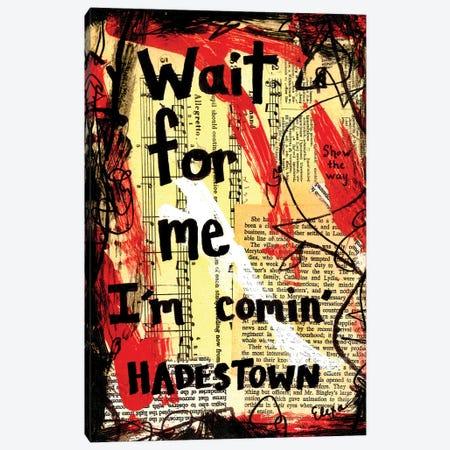 Wait For Me Hadestown Canvas Print #EXB50} by Elexa Bancroft Canvas Artwork