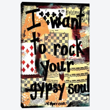 Gypsy Soul Canvas Print #EXB53} by Elexa Bancroft Canvas Artwork