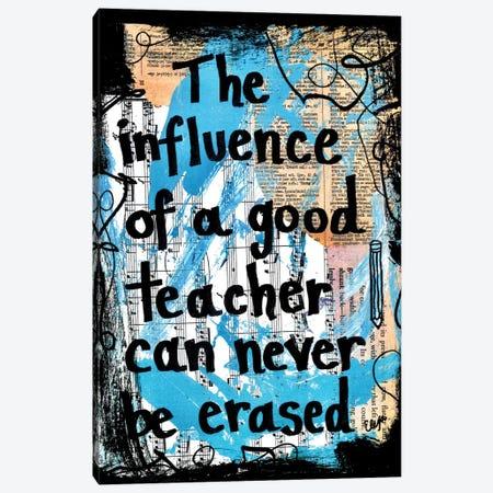 Good Teacher Canvas Print #EXB72} by Elexa Bancroft Canvas Artwork