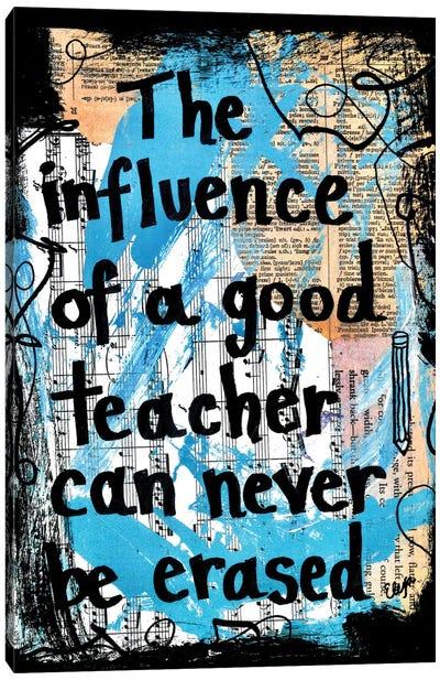 Good Teacher Canvas Art Print