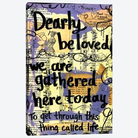 Dearly Beloved Canvas Print #EXB81} by Elexa Bancroft Art Print