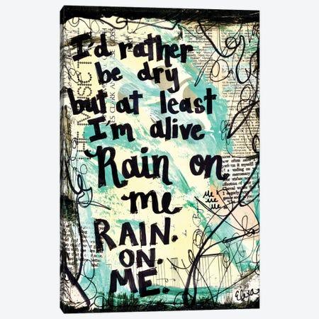 Rain On Me By Lady Gaga Canvas Print #EXB83} by Elexa Bancroft Canvas Art Print