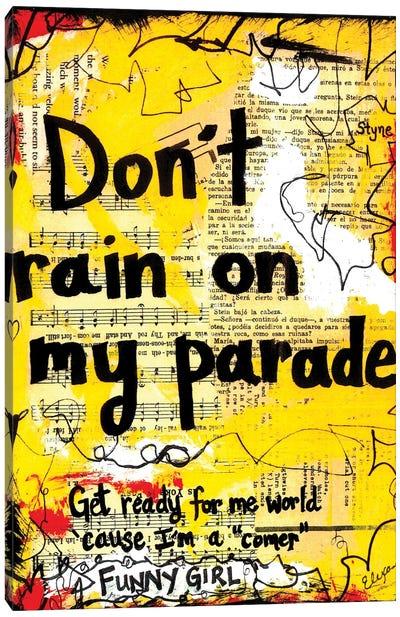 Parade Funny Girl Canvas Art Print