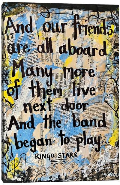 Yellow Submarine By Beatles Canvas Art Print