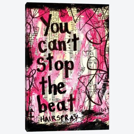 The Beat Hairspray Canvas Print #EXB99} by Elexa Bancroft Canvas Art