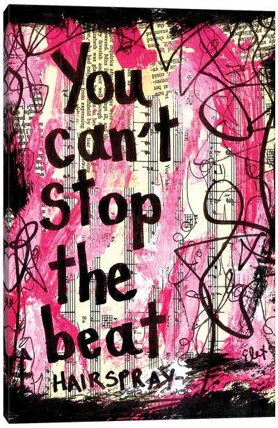 The Beat Hairspray Canvas Art Print