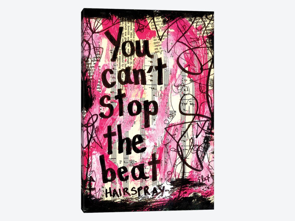 The Beat Hairspray by Elexa Bancroft 1-piece Canvas Art