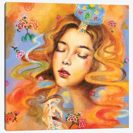 The Daydreamer: Jokduri Canvas Print #EYK11} by Eury Kim Canvas Artwork