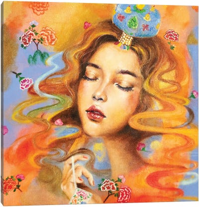 The Daydreamer: Jokduri Canvas Art Print