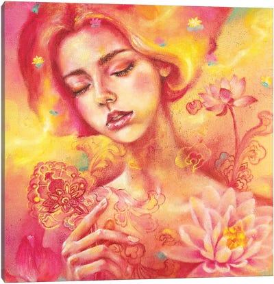 The Dreamer: Lotus Canvas Art Print