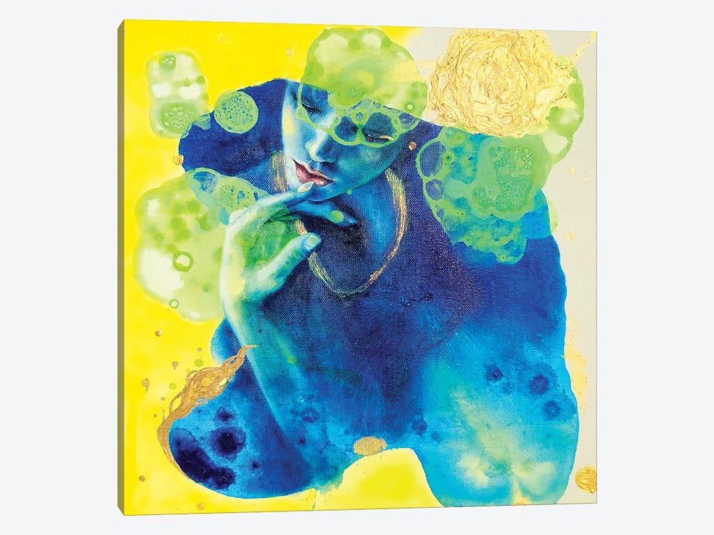 I'll Tell You My Secret by Eury Kim 1-piece Canvas Artwork