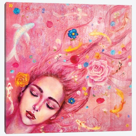 Ophelia Canvas Print #EYK16} by Eury Kim Canvas Print