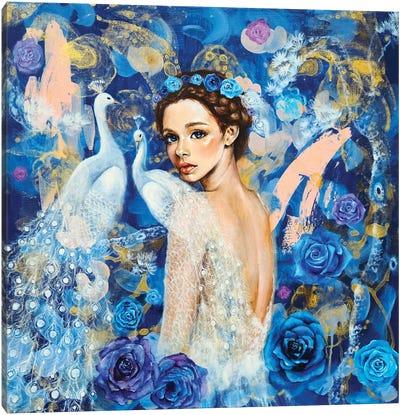 Miracle Blue Canvas Art Print