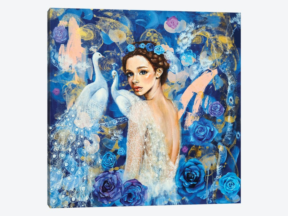 Miracle Blue by Eury Kim 1-piece Canvas Art