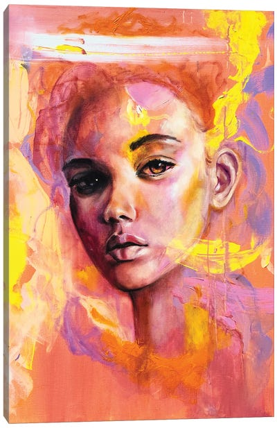 Maybe Canvas Art Print