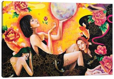 Lunatic Destiny Canvas Art Print