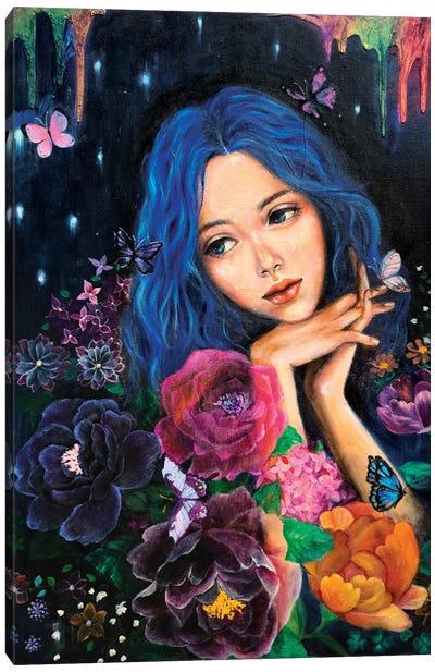 A Starry Night Canvas Art Print
