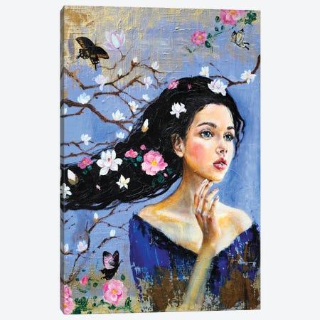 The Dreamer: Magnolia Canvas Print #EYK25} by Eury Kim Canvas Art