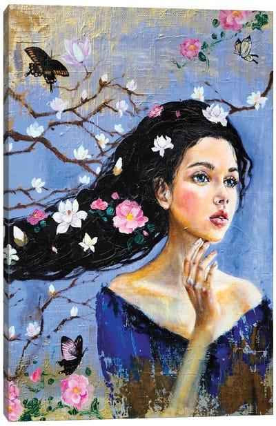 The Dreamer: Magnolia Canvas Art Print