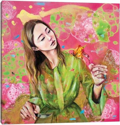 Flowerian II Canvas Art Print