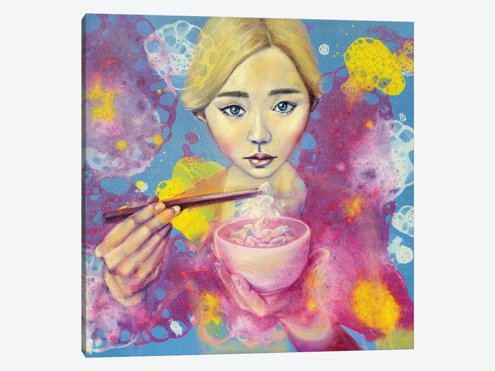 Flowerian III by Eury Kim 1-piece Canvas Print