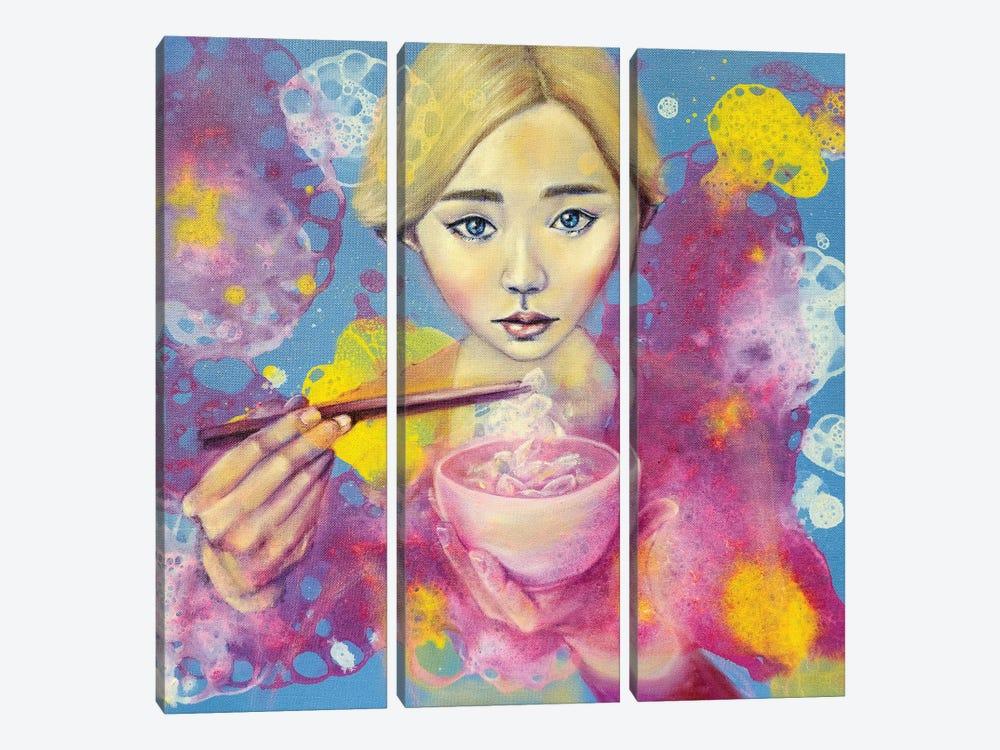 Flowerian III by Eury Kim 3-piece Art Print