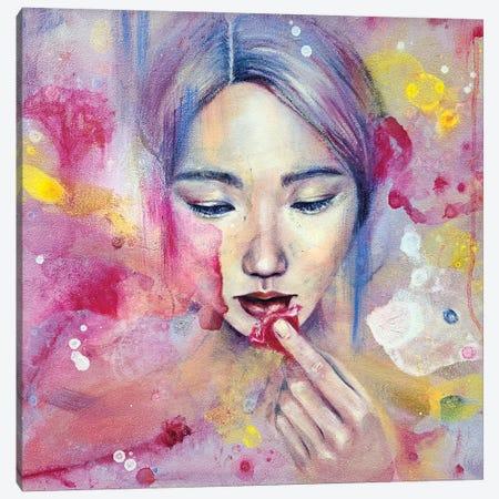 Flowerian Canvas Print #EYK28} by Eury Kim Art Print
