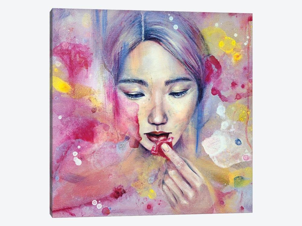 Flowerian by Eury Kim 1-piece Canvas Wall Art