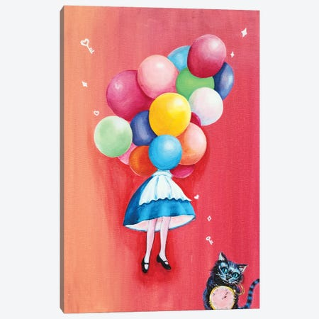 Alice: I Can't Go Back To Yesterday Canvas Print #EYK29} by Eury Kim Canvas Art Print