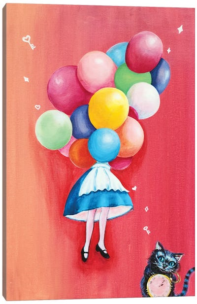 Alice: I Can't Go Back To Yesterday Canvas Art Print