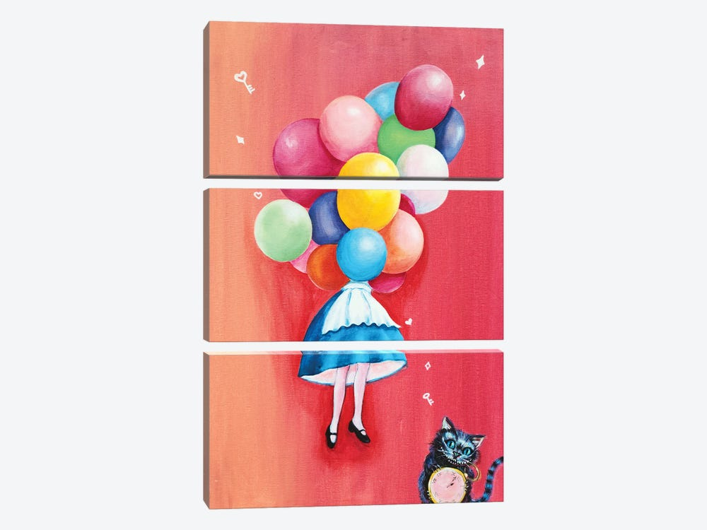 Alice: I Can't Go Back To Yesterday by Eury Kim 3-piece Art Print