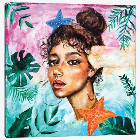 The Dreamer: Starfish Canvas Print #EYK30} by Eury Kim Canvas Artwork