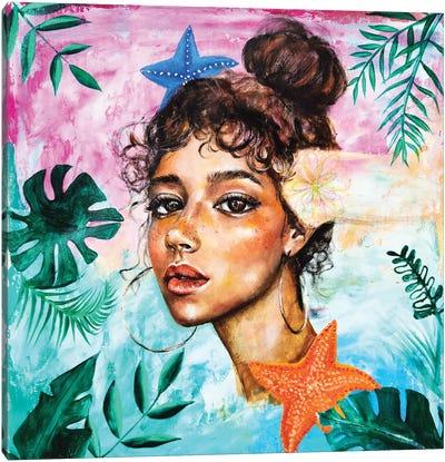 The Dreamer: Starfish Canvas Art Print