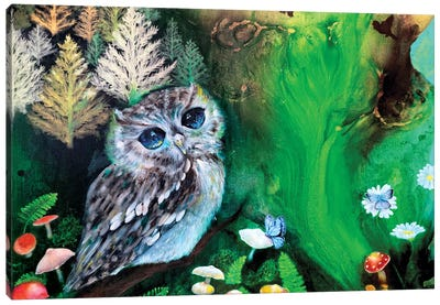 The Forest Of Serenity Canvas Art Print