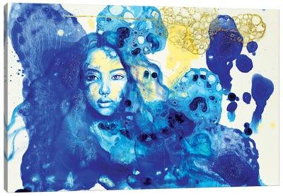 Blue Doors In Tunis Canvas Art Print