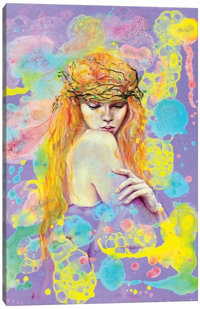 She Belongs To The Forest Canvas Art Print