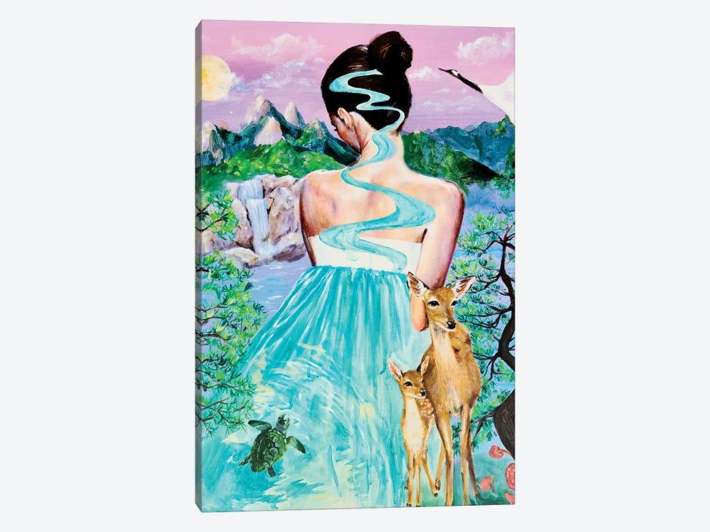 Waiting III by Eury Kim 1-piece Canvas Artwork