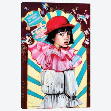 Homesick Carnival Canvas Print #EYK41} by Eury Kim Art Print