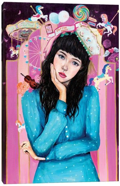 Sweetbitter Canvas Art Print
