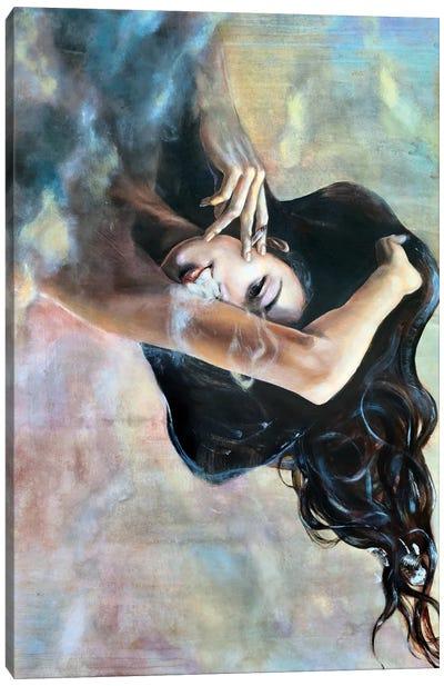 Fume Canvas Art Print