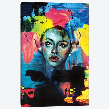 Blue Velvet Canvas Print #EYK46} by Eury Kim Canvas Art