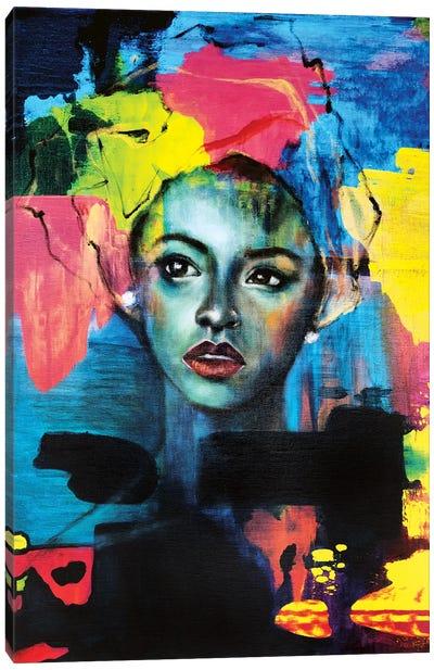 Blue Velvet Canvas Art Print