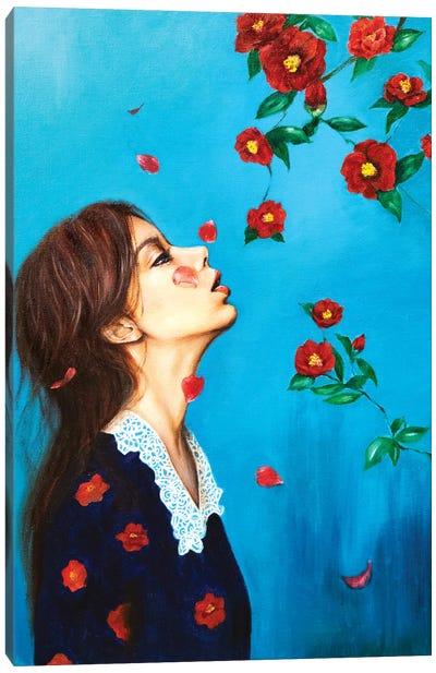 Homesick: Camellia Canvas Art Print