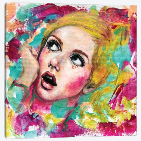 Twiggy Canvas Print #EYK49} by Eury Kim Canvas Print