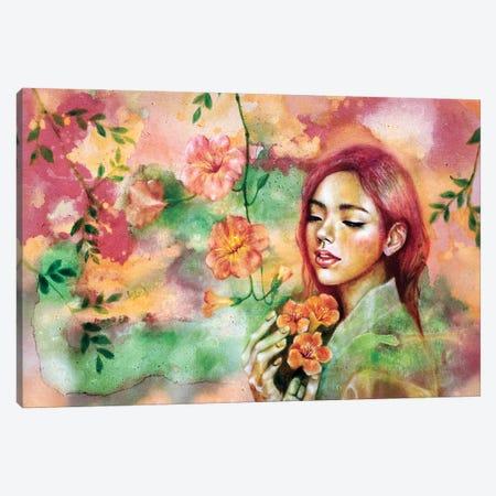 Waiting II Canvas Print #EYK4} by Eury Kim Canvas Wall Art