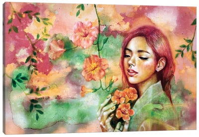 Waiting II Canvas Art Print