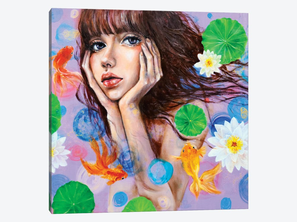 Thinking of you by Eury Kim 1-piece Canvas Art