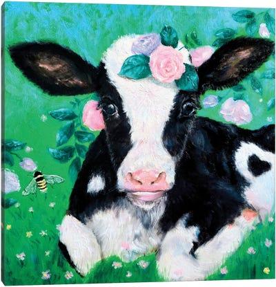 Moo Moo Cow Canvas Art Print