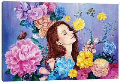 The Mystic Garden Canvas Art Print