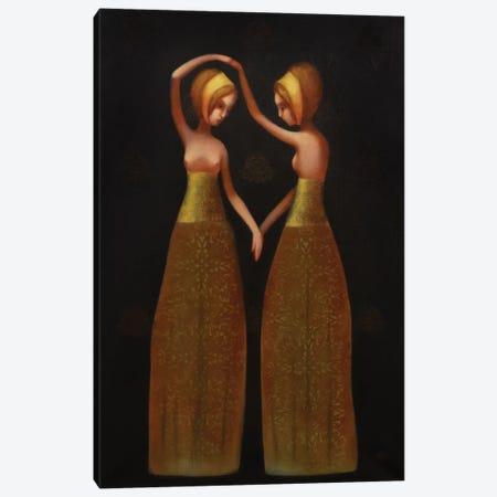 Dance Canvas Print #EZE11} by Eduard Zentsik Canvas Art